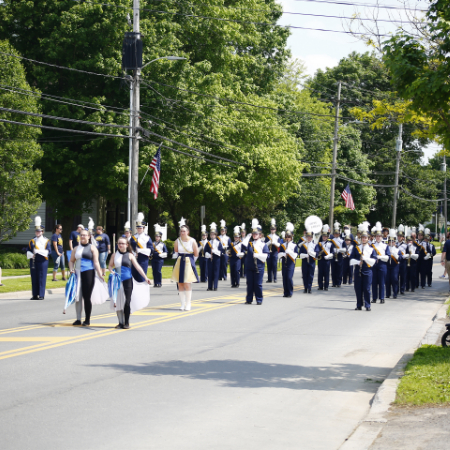 APW Marching Band and Colorguard