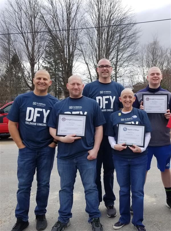 APW Faculty Donate to St. Baldrick's Foundation